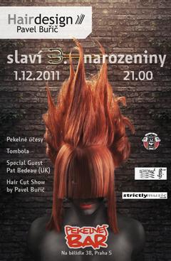 Profilový obrázek 3.narozeniny salónu HairDesign Pavel Buřič