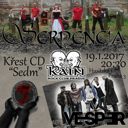 Profilový obrázek Serpencia - křest CD | Vesper