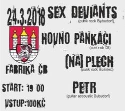 Profilový obrázek Sex Deviants, Hovno pankáči, (NA) PLECH & Petr ve Fabrice