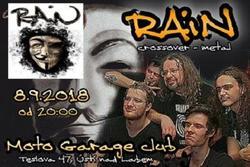 Profilový obrázek Crossover-metalová jízda s kapelou RAiN
