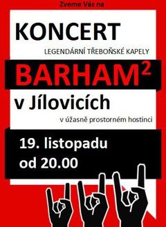 Profilový obrázek Koncert skupiny BARHAM2