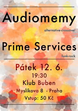 Profilový obrázek Audiomemy a Prime Services v Bubnu