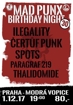 Profilový obrázek Mad punx birthday night - tricatiny