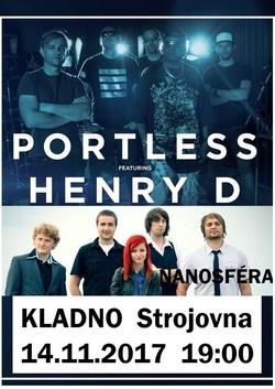 Profilový obrázek Portless feat. Henry D ( support Nanosféra )