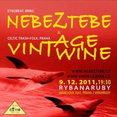 Profilový obrázek kapely Vintage Wine a Nebeztebe v Ryběnaruby