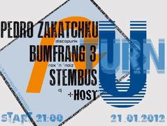 Profilový obrázek Bumfrang3, Pedro Zakatchku, DJ Stembus  in MB U-Turn Pub