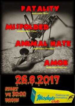 Profilový obrázek FATALITY + AMOK + ANIMAL HATE + MISFOLDED