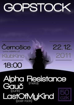 Profilový obrázek Alpha Resistance (první vystoupení), LastOfMyKind (první vystoupení), Gauč v Clubu Kino Černošice