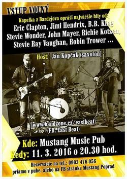 Profilový obrázek East Beat Blues Band Live in Mustang Pub