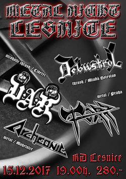 Profilový obrázek Metal Night Lesnice