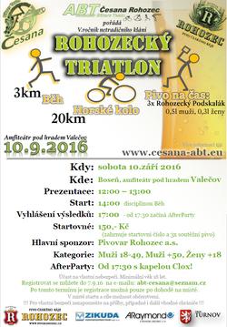 Profilový obrázek Rohozecký triatlon - afterparty