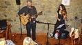 Scéna Písničkářského Orfestu v Dobrých časech