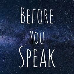 Profilový obrázek Before You Speak