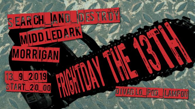 Koncert Frightday the 13th - pozvánka