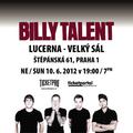 Obrázek k soutěži: Vyhraj lístky na Billy Talent