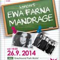 Obrázek k soutěži: Soutěž o 4x2 vstupy na koncert Ewy Farné a Mandrage