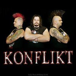Obrázek k soutěži: Soutěž o vstupenky na koncert a Triko+CD+DVD punk-rockové legendy Konflikt!