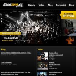 Obrázek ke článku blogu: Bandzone.cz verze 3.0 právě spuštěna!