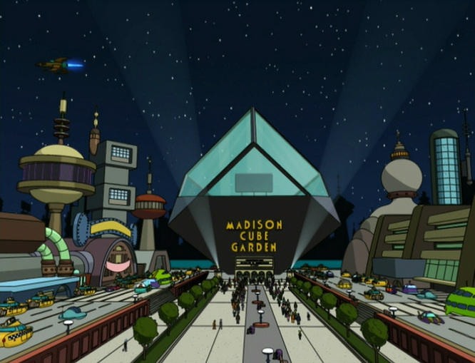 Futurama - Madison Cube Garden
