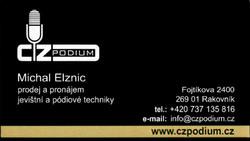 Profilový obrázek CzPodium - mobilní pódium prodej/pronájem