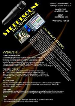 Profilový obrázek StreetSound Studio (Honza SMC)