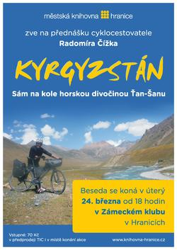 Kyrgyzstán: Sám na kole horskou divočinou Ťan Šanu