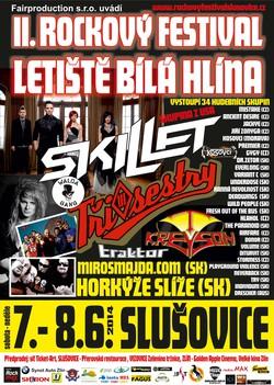 Profilový obrázek Rockový festival Slušovice Bílá Hlína 2014