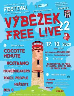 Profilový obrázek Festival Výběžek free L!VE 22