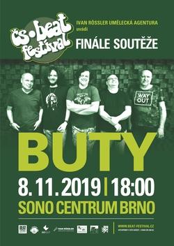 Profilový obrázek Buty & finále soutěže Čs. beat-festivalu