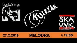 Profilový obrázek Kuležák, LuckySings a SkAunk na Melodce!