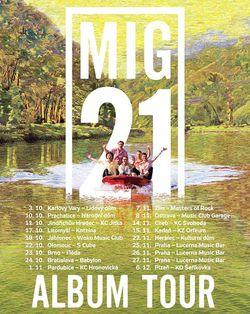 Profilový obrázek MIG 21: ALBUM TOUR