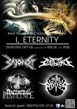 """Profilový obrázek Křest alba """"I, Eternity"""" kapely Nocturnal Pestilence"""