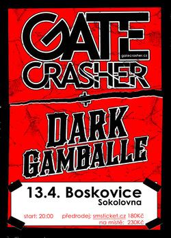 Profilový obrázek GATE Crasher + Dark Gamballe - Boskovice