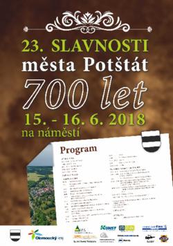 Profilový obrázek 23. slavnosti města Potštát 2018
