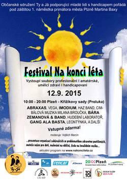 Profilový obrázek Festival Na konci léta - ABRAXAS, IMODIUM, GANG ALA BASTA, BÁRA ZEMANOVÁ & BAND  a další