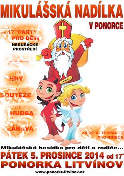 Profilový obrázek [PARTY] MIKULÁŠSKÁ BESÍDKA V PONORCE