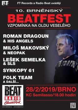 Profilový obrázek 10. brněnský Beatfest - vzpomínka na Oldu Veselého