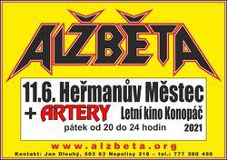 Profilový obrázek Alžběta + Artery - Letní kino autokemp Konopáč