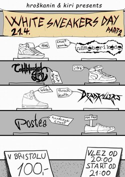 Profilový obrázek White Sneakers Day vol.2 (Thrash'n'Crust)