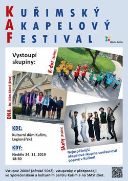 Profilový obrázek Kuřimský akapelový festival