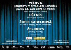 Profilový obrázek Večery S - Pětník, Žofie Kabelková, Želiboys