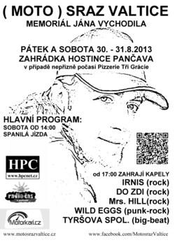 Profilový obrázek Motosraz Valtice 2013 - Memoriál Jána Vychodila
