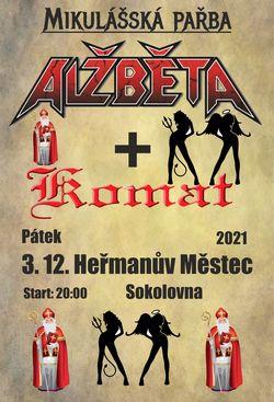Profilový obrázek Alžběta + Komat - Heřmanův Městec - Mikulášská pařba
