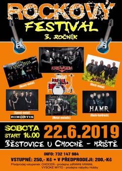 Profilový obrázek 3.Rockový festival Běstovice