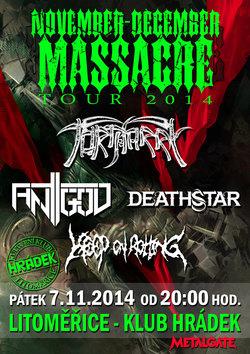 Profilový obrázek November / December Massacre Tour 2014