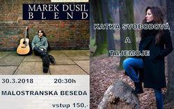 Profilový obrázek Kateřina Svobodová & Tajemoje + Marek Dusil Blend