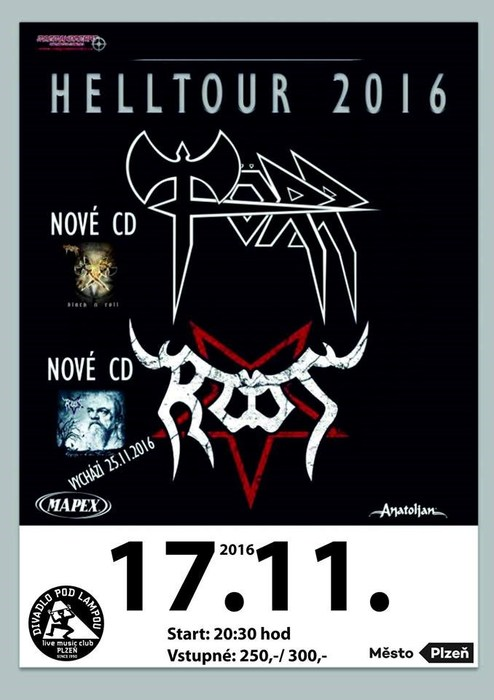 810b3b6ebb3 Profilový obrázek Helltour 2016 - Törr   Root. Sdílej koncert dál