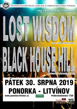 Profilový obrázek The Swedes Are Coming #3: Black House Hill [SWE] + Lost Wisdom [SWE]