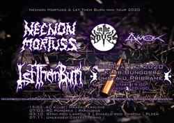 Profilový obrázek Necnon Mortuss & Let Them Burn mini tour 2020