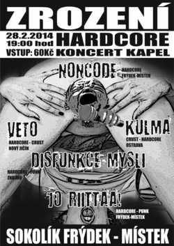 Profilový obrázek ZROZENÍ - Hardcore koncert kapel